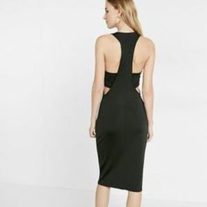 Express racer back tank dress XS